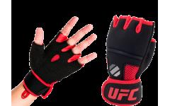 Гелиевые UFC перчатки (Чёрные S/M)